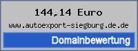 Domainbewertung - Domain www.autoexport-siegburg.de.de bei 24service.biz