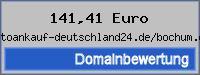 Domainbewertung - Domain autoankauf-deutschland24.de/bochum.de bei 24service.biz