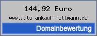 Domainbewertung - Domain www.auto-ankauf-mettmann.de bei 24service.biz