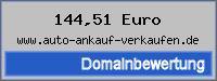 Domainbewertung - Domain www.auto-ankauf-verkaufen.de bei 24service.biz