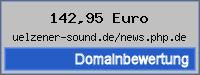 Domainbewertung - Domain uelzener-sound.de/news.php.de bei 24service.biz