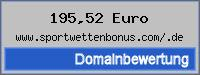 Domainbewertung - Domain www.sportwettenbonus.com/.de bei 24service.biz