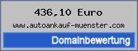 Domainbewertung - Domain www.autoankauf-muenster.com bei 24service.biz