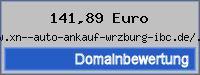 Domainbewertung - Domain www.xn--auto-ankauf-wrzburg-ibc.de/.de bei 24service.biz