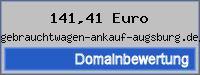 Domainbewertung - Domain www.gebrauchtwagen-ankauf-augsburg.de/.de bei 24service.biz