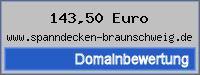 Domainbewertung - Domain www.spanndecken-braunschweig.de bei 24service.biz