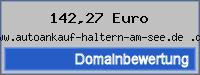 Domainbewertung - Domain www.autoankauf-haltern-am-see.de .de bei 24service.biz